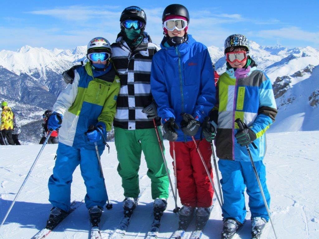 Bridgewater School Senior ski trip