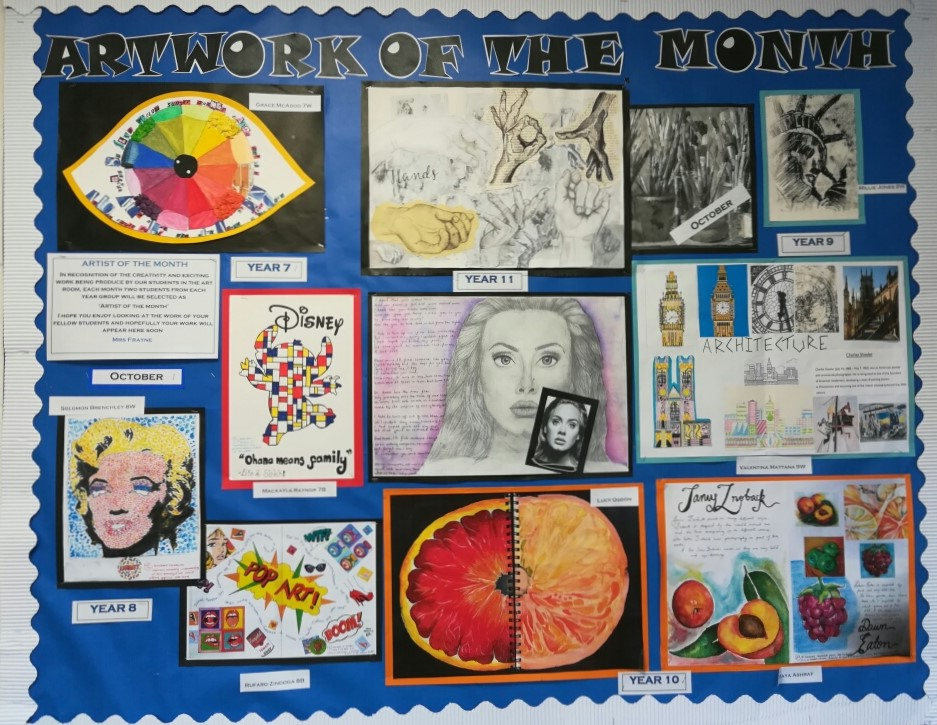 Bridgewater artwork of the month October 18