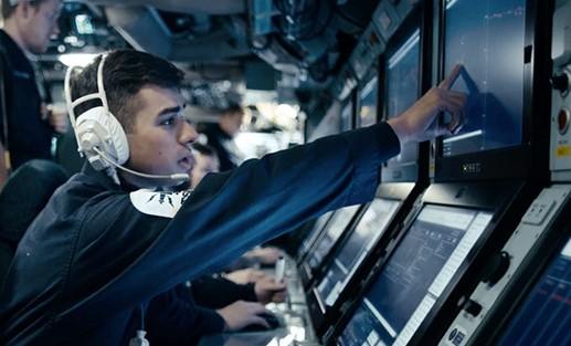 Royal Navy visit Bridgewater Sixth Form