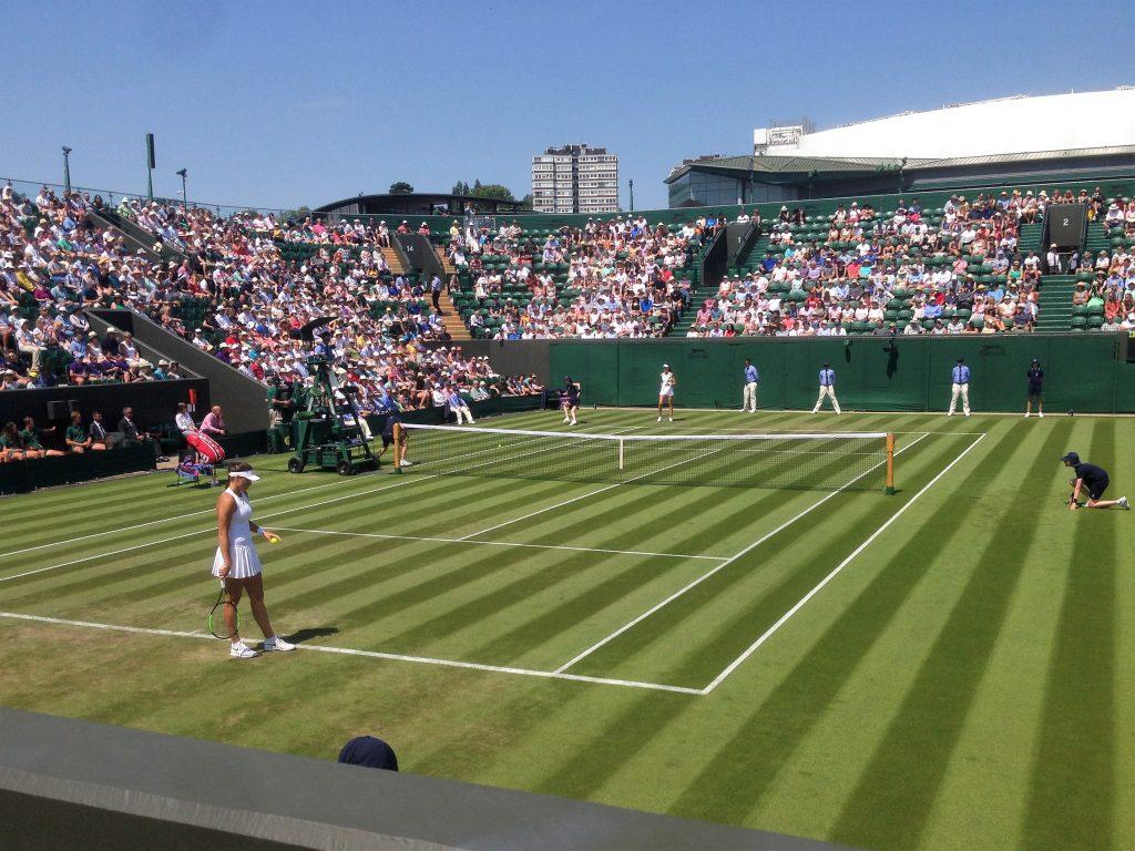 Wimbledon Tennis Championships No 2 court match