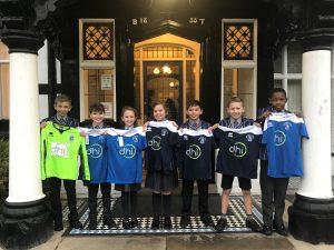 Bridgewater School football kit