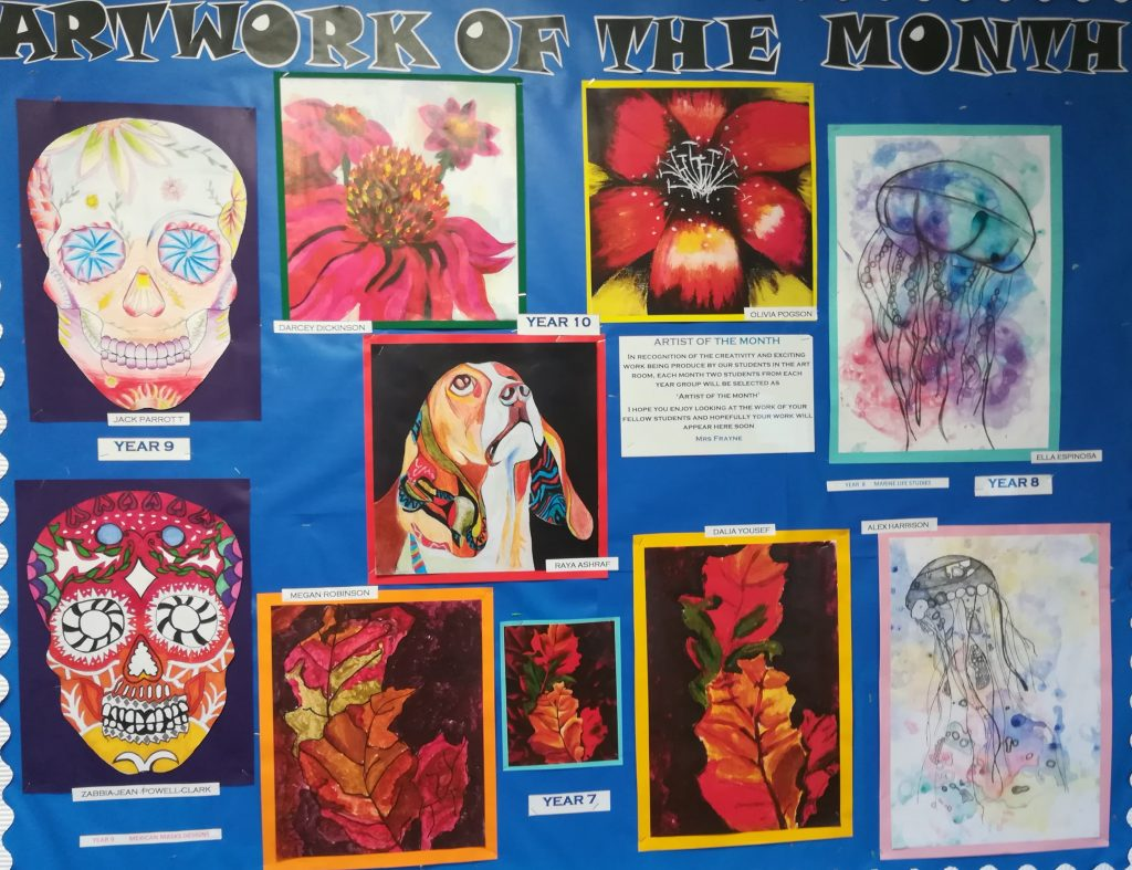 Artwork of the Month