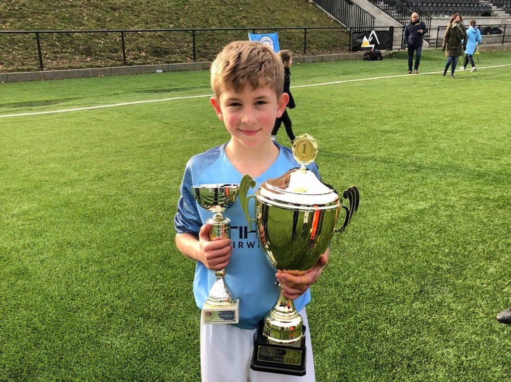 Bridgewater pupil Alfie Turley wins ISA Cross Country U9 championship