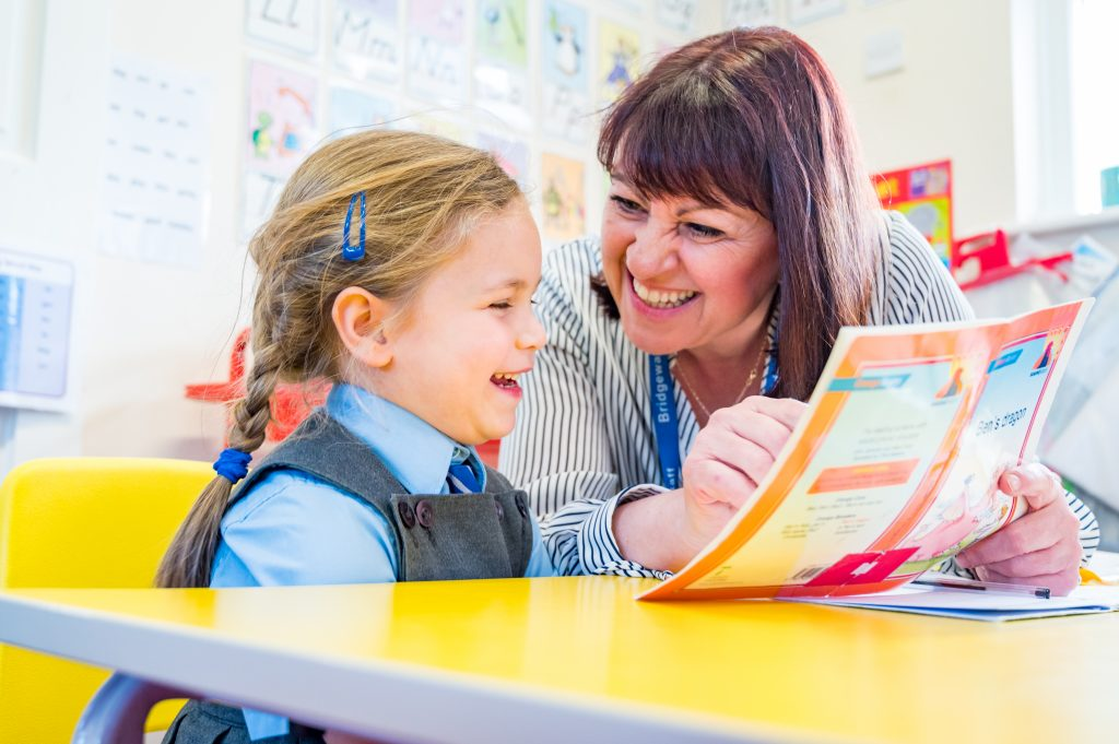 Bridgewater School early years individualised attention