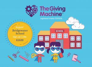 Raise free funds for Bridgewater School